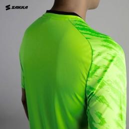Muška sportstka majica DIE HARD NEON zelene boje