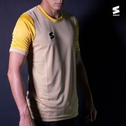 Muška sportska majica ARC GOLD žute boje
