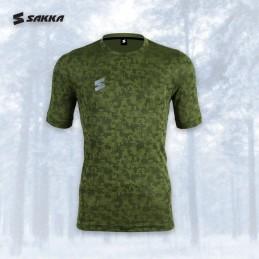 Muška sportstka majica CAMOD GREEN zelene boje