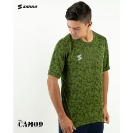 Man sport t-shirt CAMOD GREEN